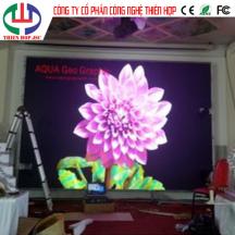 Lắp Đặt Màn hình LED P4 SMD 2121 Trong nhà tại Nhà hàng Q.2 , Thảo Điền, TP.HCM